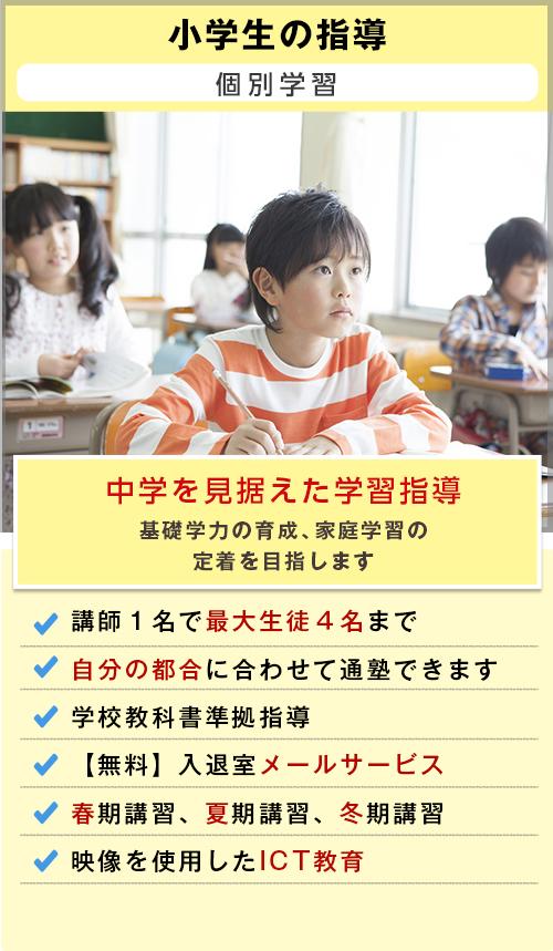 自立型個別学習の成績Apシステム|小学生の指導